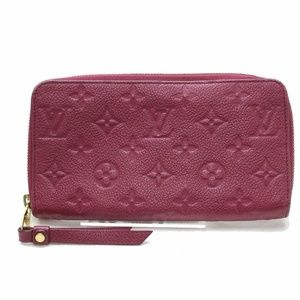 Auth Louis Vuitton Zippy Empreinte #2748L39B